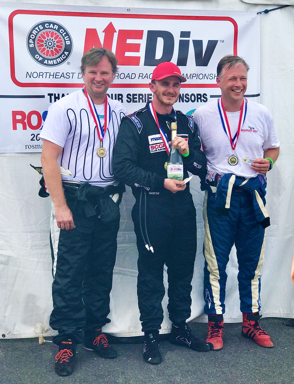 Picture of Winners of SCCA NE Division