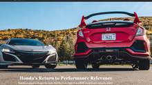 Road & Track Magazine Features The Club In Honda Article