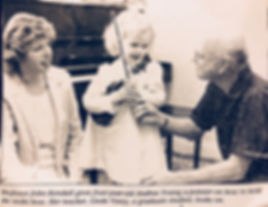 Andrea Young Violin Fiddle Lessons Dr. John Kendall