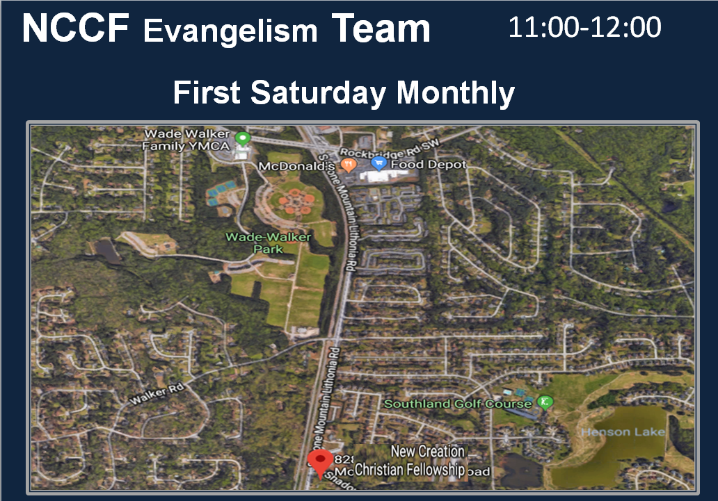 NCCF Evangelism