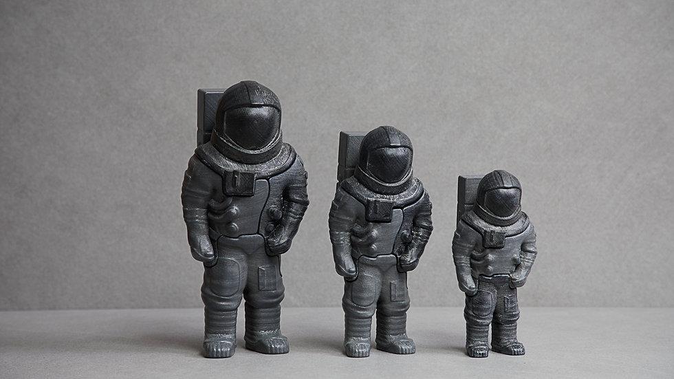 LOCKNESTERS 3D Puzzle - Astronaut