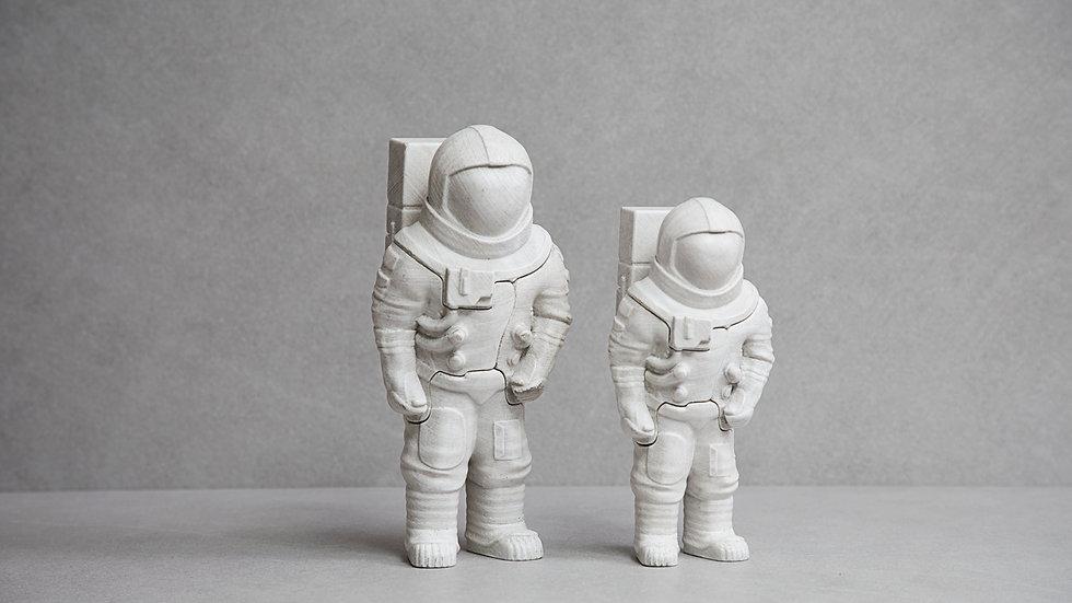 LOCKNESTERS 3D Puzzle - Astronaut (White)