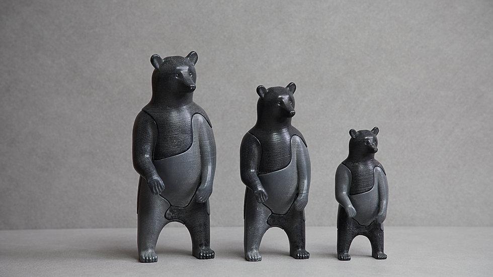 LOCKNESTERS 3D Puzzle - Bear