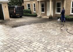 Driveway clean & treatment