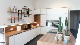 Pose d'une cuisine à Schweighouse-sur-moder