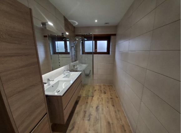 Rénovation de salle de bain à Marienthal