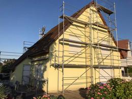 Mise en peinture d'une maison à Bischwiller