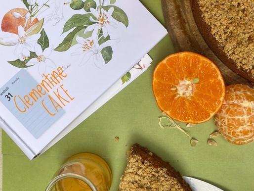 עוגת קלמנטינות חמאת בוטנים עם קראמבל שיבולת שועל -  קשיו