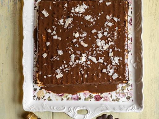 עוגת מצות חלבה- וניל