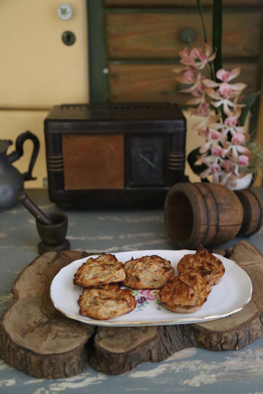 לביבות תפוחים מתקתקות ללא שמן!