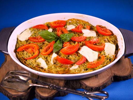 קיגל פסטו, עגבניות וצפתית