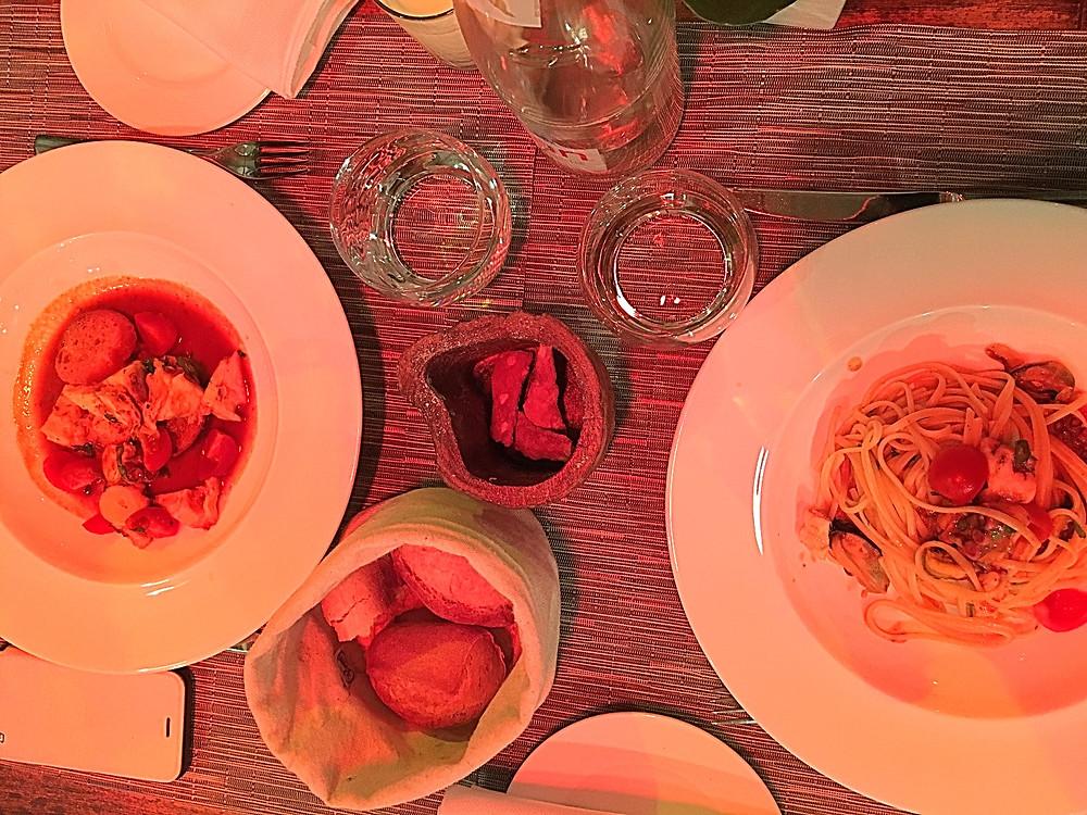 La PESCHERIA restaurant, Nice
