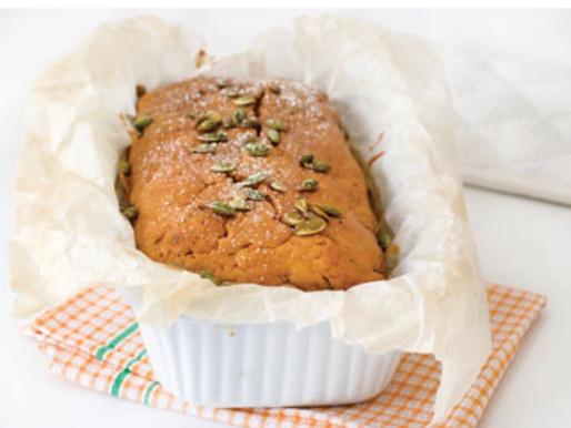 עוגת דלעת ותבלינים מחממים