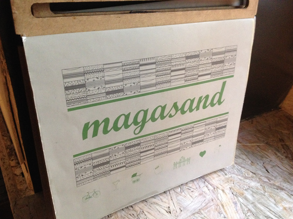 Magassand cafe, Madrid