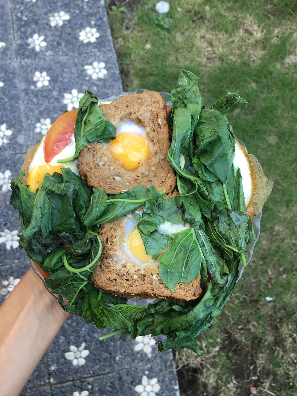 קוקו בקן מלחם מלא