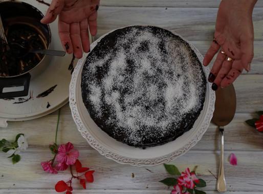 עוגת אגוזים חגיגית של סבתא מינה