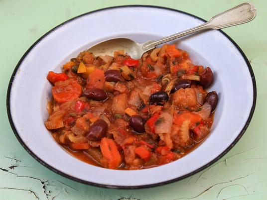 קפונטה - תבשיל חצילים סיציליאני