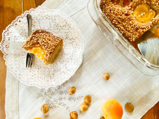 עוגת משמשים בטעם של פעם