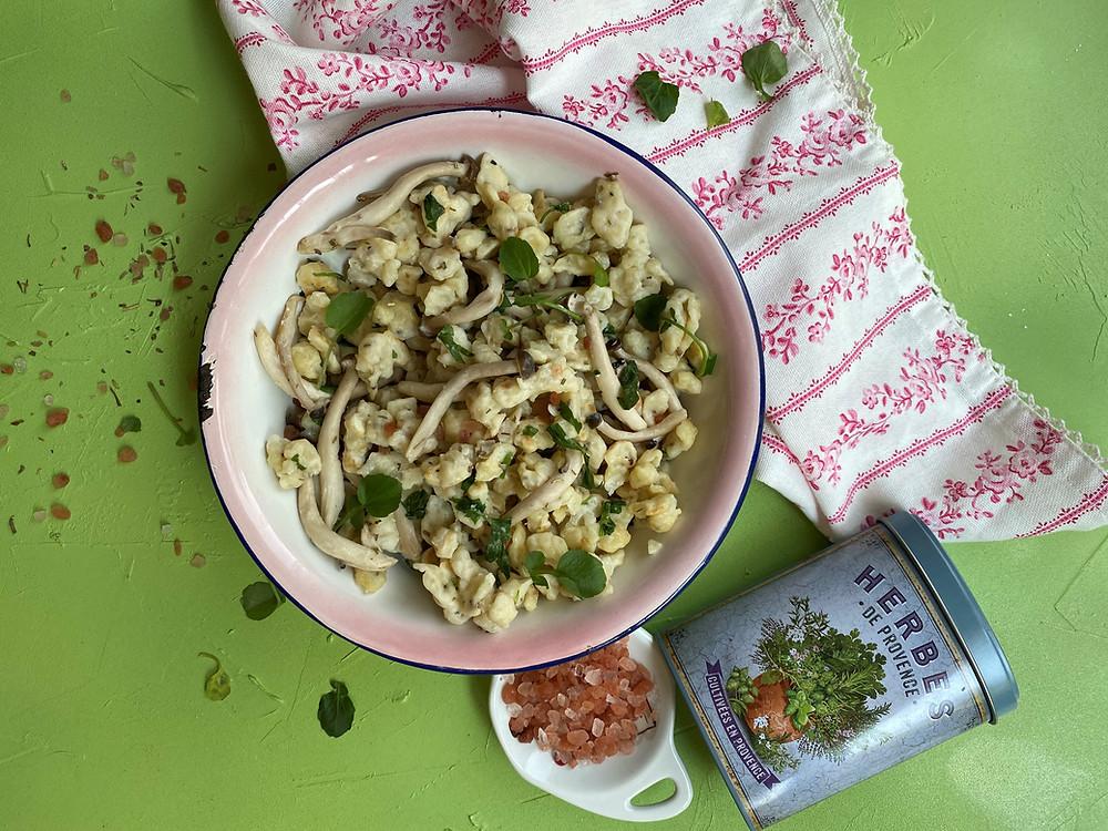 אורז בירקות ירוקים