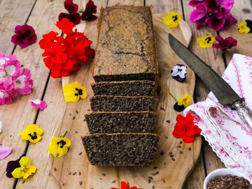 לחם פשתן- ללא פחמימות