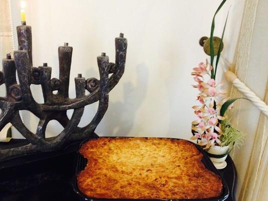 פשטידת תפוחי אדמה מבית סבתא מינה - בּוּבֶּה (ו' בשורוק ו – ב' בסגול)