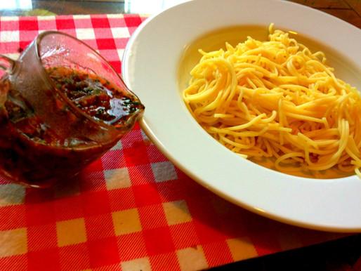 רוטב עגבניות ותרד לפסטה או פיצה