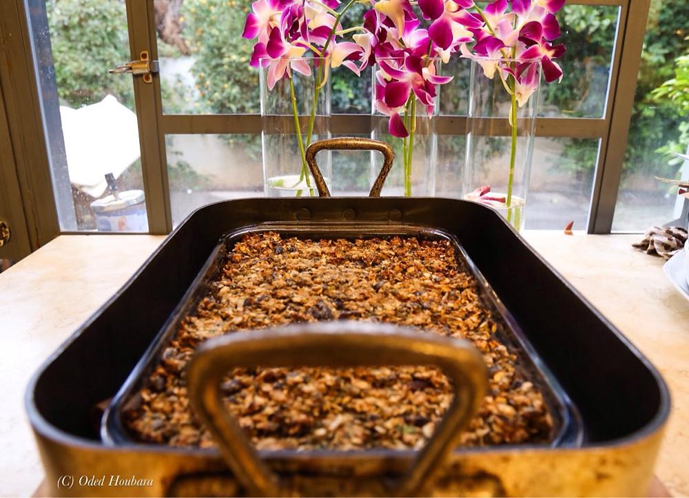 קציץ עדשים טבעוני צילום עודד חוברה