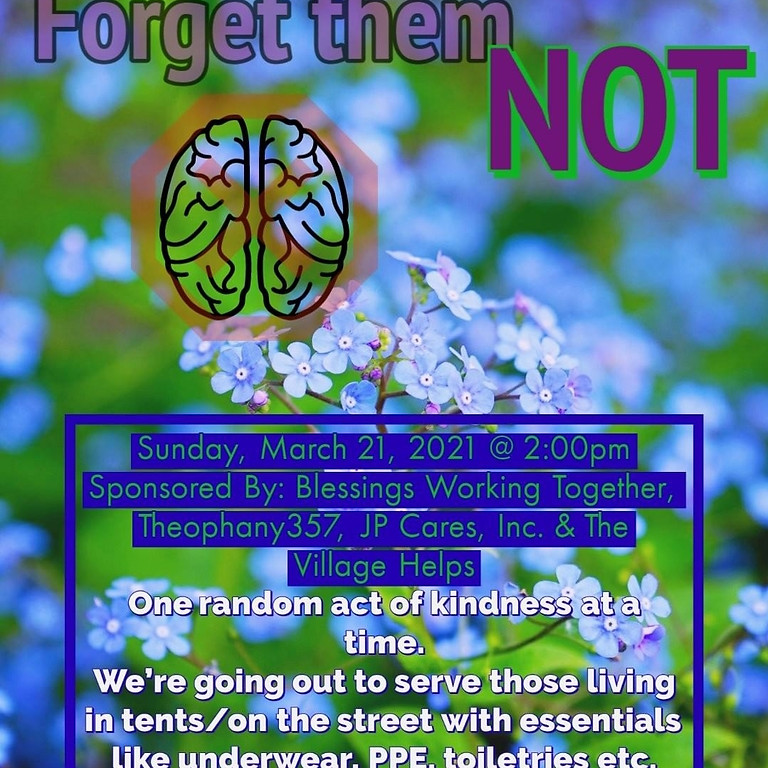 Forget them NOT