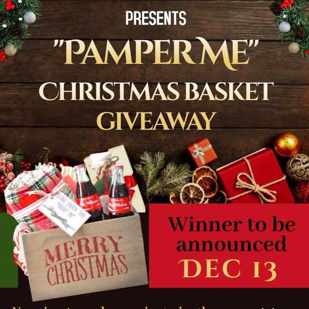 Pamper Me Christmas Basket Giveaway