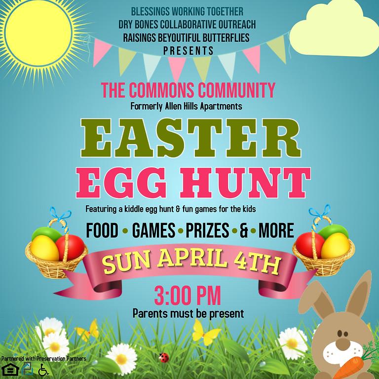 The Commons Community Easter Egg Hunt
