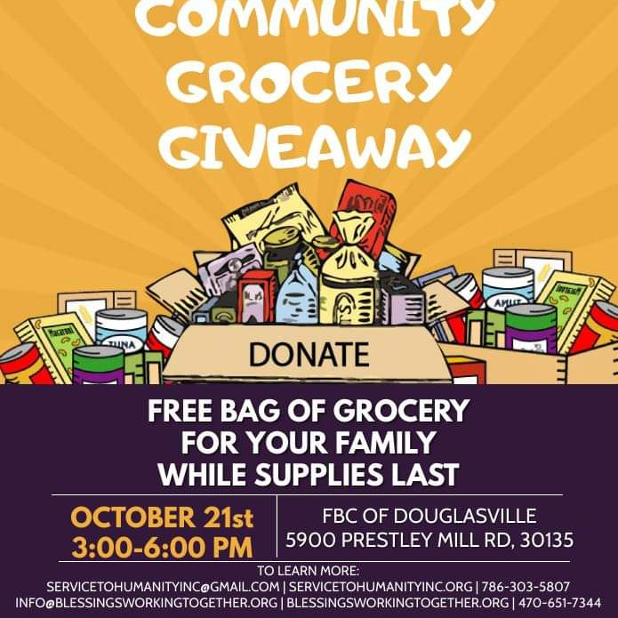 Community Grocery Giveaway