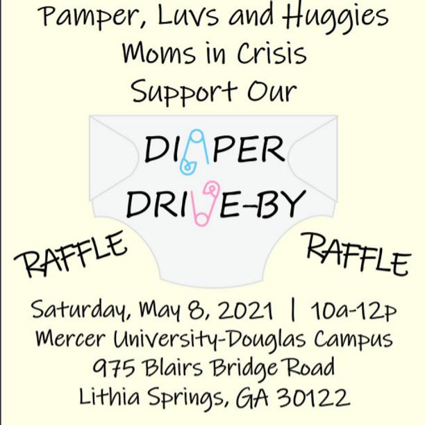 Pamper Luvs Huggies Diaper Donation Drive-By