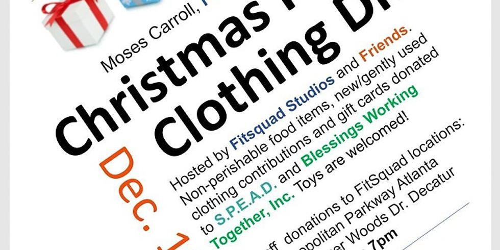 Christmas Food and Clothing Drive