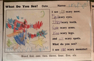Lots of Scary Halloween Monsters!