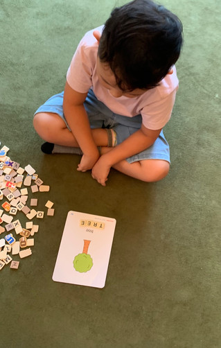 Learning Capital and Lowercase Letters