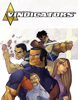 Original Vindicators Artbook