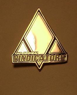 Original Vindicators Badge