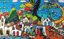 La rua madureira(vendu)(135x81cm)