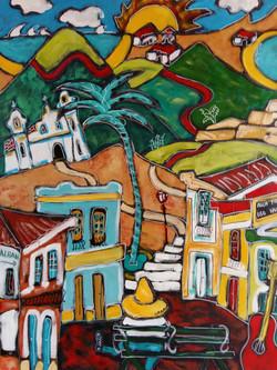Vers Puerto Angel(30F)(vendu))