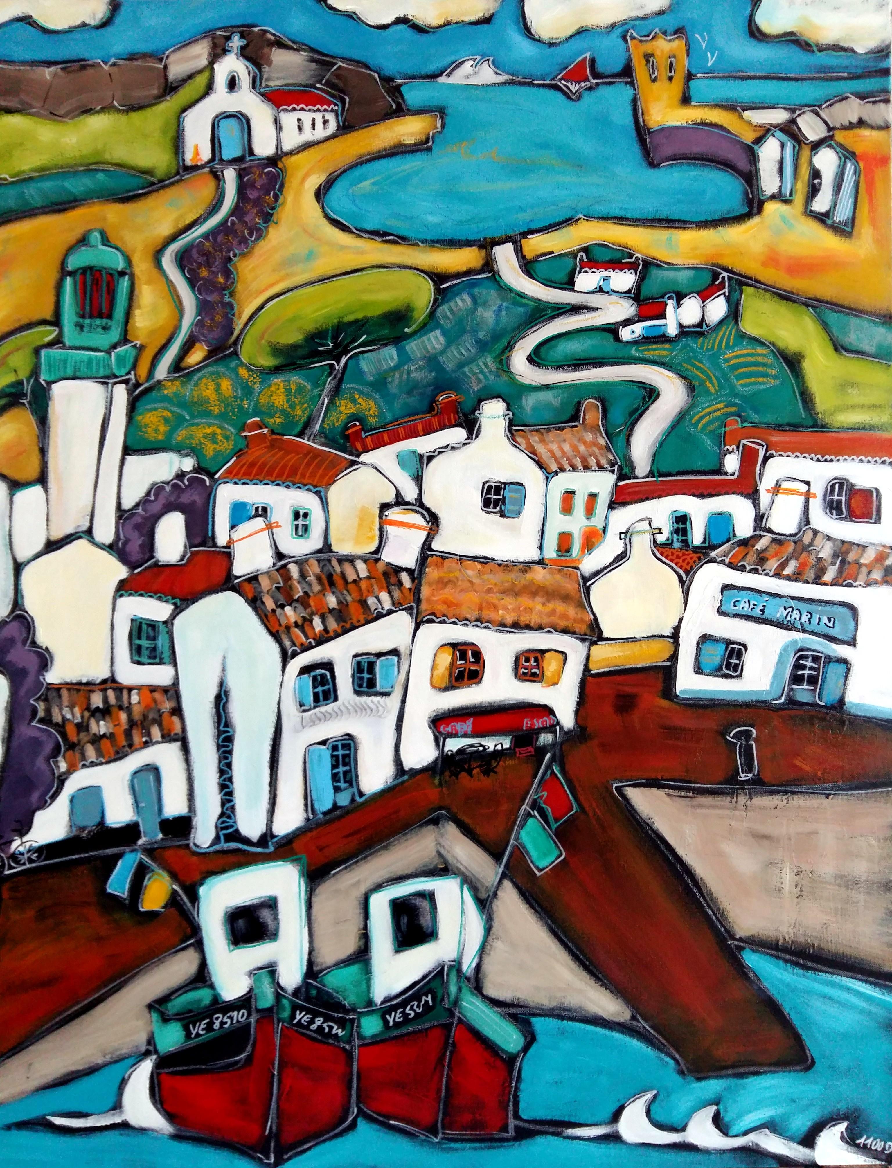 Le quai ile d'Yeu(30F)(Vendu)