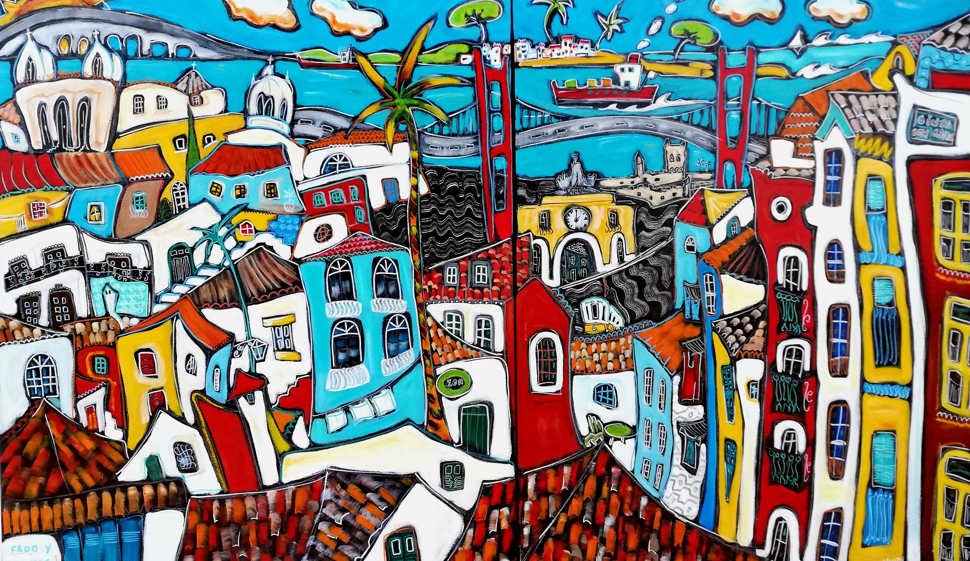 Fado y Saudade (130x81cm)(dispo)