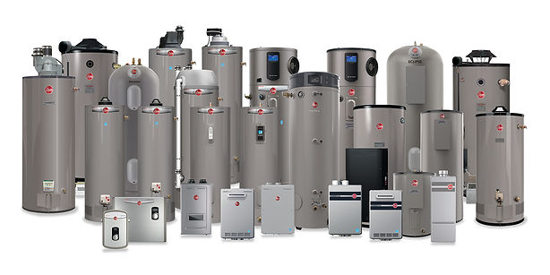 Rheem Residential-Commercial WH Product-