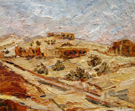 Khalasa-Negev desert Israel