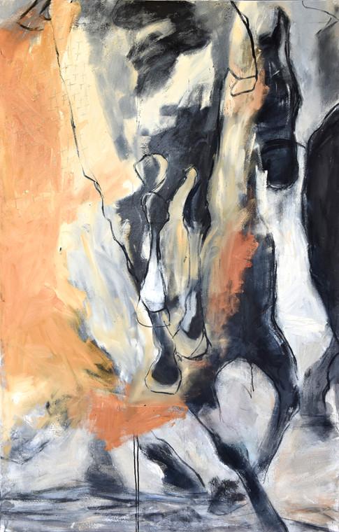 Desert Sands, Mixed Media on Canvas, 2009