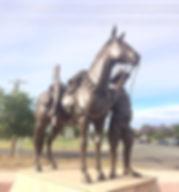 HAY LIGHT HORSE MEMORIAL (Photo Jan Wags