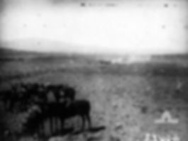 Notts_Battery_in_action_at_Kaukab_(AWM_B