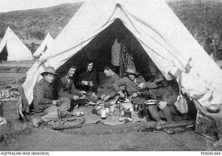 7 LH at Gallipoli once more - xmas 1918