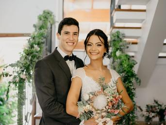 Gratos a Deus pelo nosso casamento ❤️
