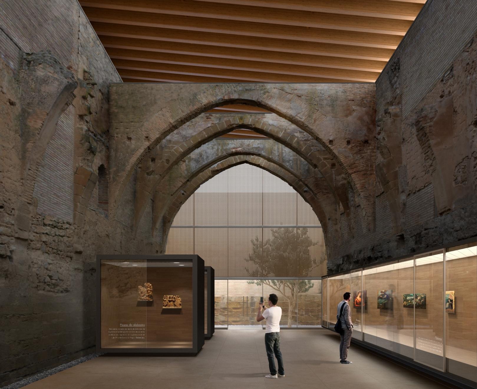 Monasterio de Sijena.  Exposición