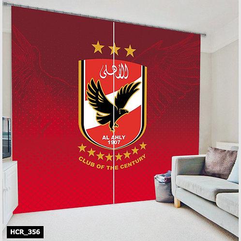El ahly 3D curtain 300cm*260cm